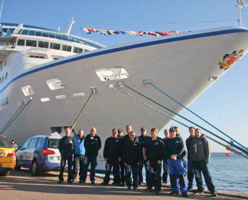 Mega Flex A/S Cruise Ship Service